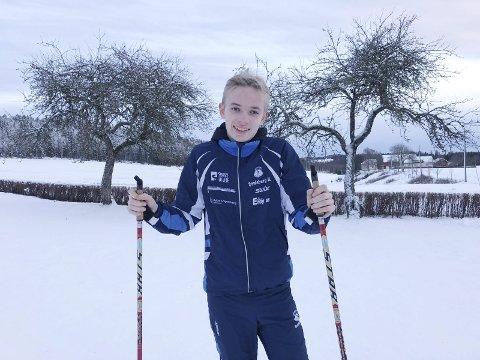 Lagt opp: Martin Erøy (16) fra Spydeberg sto før på langrenn i Spydeberg IL, men sluttet i fjor. Han mener det var mange forskjellige ting som gjorde at han ville slutte.