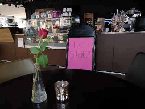 STENGT: Coffeelicous AS meldte selv oppbud denne uken.