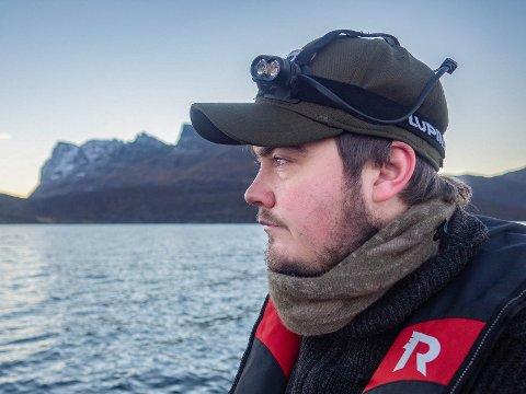 SVALBARD: Stig Magnus Lunde (27) fra Eidsberg jobber og bor på Svalbard. Han har bodd på Svalbard de fire siste årene. (Trykk på pil for å se flere bilder)