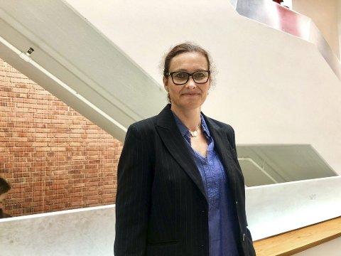 REKTOR: Janne Østenby er konstituert rektor på Mysen videregående skole til nyttår.