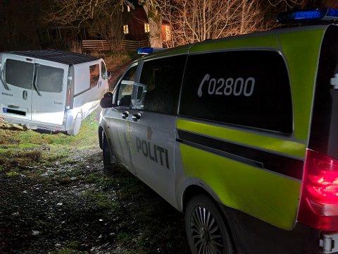 Politiet stoppet bilen ved Lekum, på vei ned mot Rakkestad. Der ble sjåføren pågrepet.
