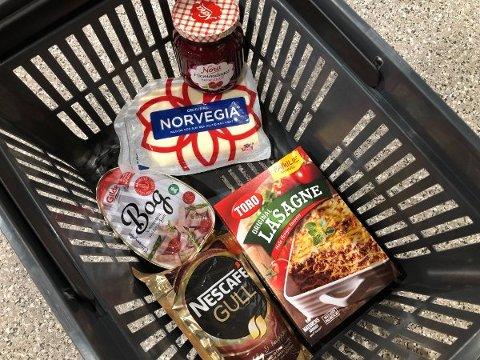 RIMELIG: Du kan gjøre et godt kjøp på blant annet disse varene denne uken. Foto: Nina Lorvik/Mediehuset Nettavisen
