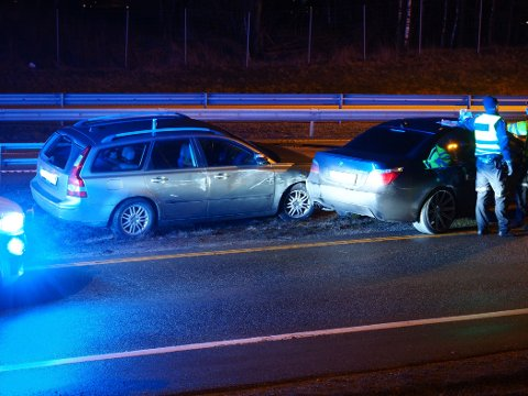 Trafikkulykke på E6