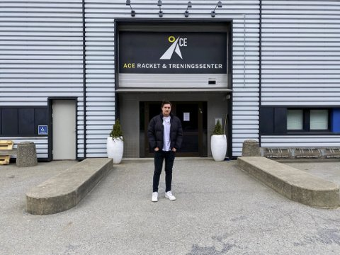 Trener ofte: Dino Keranovic (15) fra Askim lar seg ikke stoppe av at treningssentre er stengt.