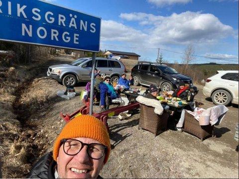 SLIK MØTES DE: Spydebergingen Petter Solberg bor til daglig i Sverige. Slik må han møte den norske siden av Solberg-familien.