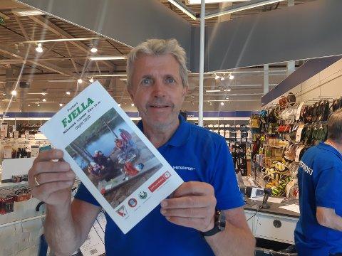 SALGSUKSESS: Ole Unaas har noen kart igjen