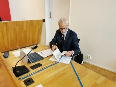 Advokat Tor Fagermo Sæter er 49-åringens forsvarer i drapssaken. Han sier 49-åringen har anket varetektsfengslingen.