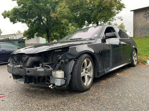 Bilen blir stadig mer ødelagt av hæverk.