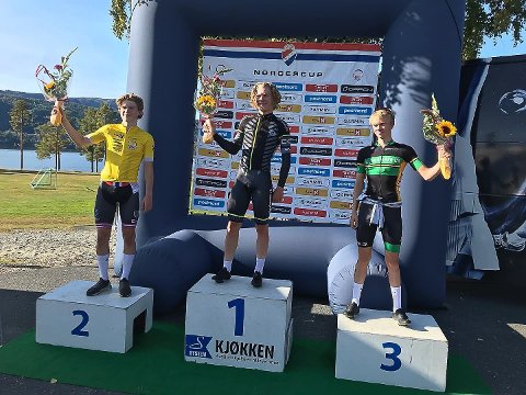 1. PLASS: I dag ble det seier for Trym Bjørner Westgaard Holther (17) fra Askim. 2. plass: Per Hagenes, Sandnes. 3. plass: Truls Nordhagen, Lillehammer.
