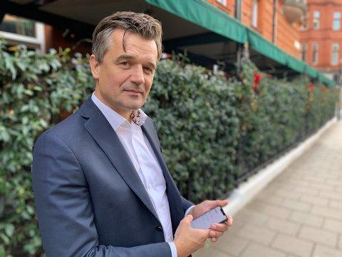 Rune Garborg, sjef i Vipps Foto: Halvor Ripegutu