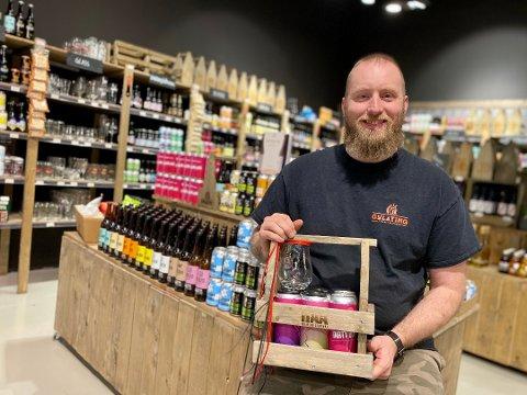 POP UP: Marius Sæthre i Gulating ølutsalg vil etablere en ny pop up-ølbutikk, men han vil foreløpig ikke si hvor.