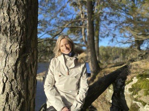 Givende arbeid: Trude Fagerland (39) fra Askim liker å jobbe med mennesker.