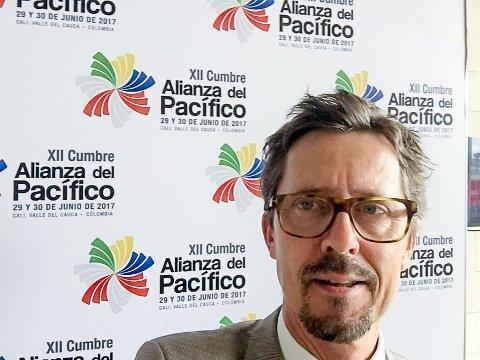 AMBASSADØR: Haakon Gram-Johannessen er Norges nye ambassadør til Maputo.