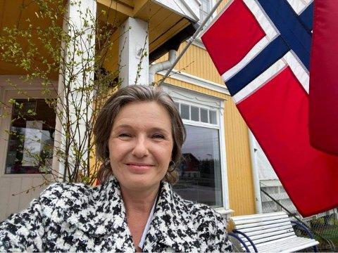 Ingrid Bjørnov feirer annerledes 17. mai - dermed er det 17. mai-uke.