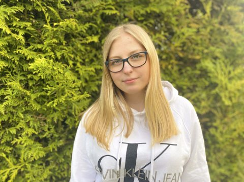 TOKULTURELL: Inger-Matilda Johansson Bekkelund (17) fra Askim hevder det er mange fordeler ve då være multikulturell.