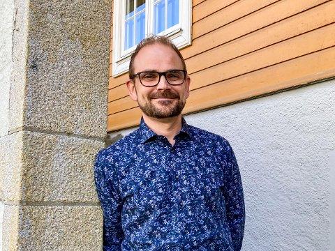 LEDER SKOLENE: Christian Holmedahl er skolesjef i Indre Østfold kommune.