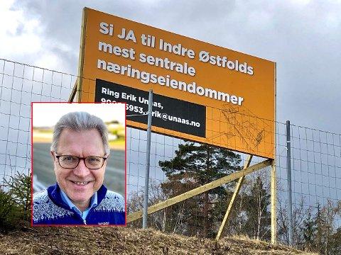 Erik Unaas intensiverer jakten på bedrifter som kan tenke seg å etablere seg på Brennemoen.