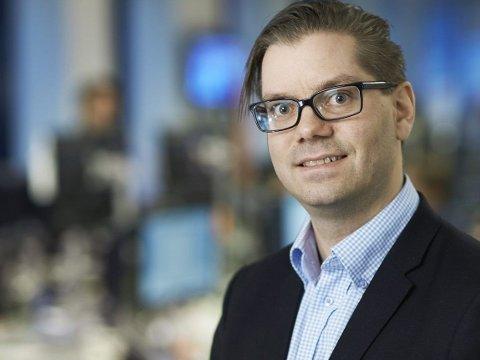 FÆRRE RENTEØKNINGER: Handelsbankens nye sjeføkonom Marius Gonsholt Hov tror å bare to renteøkninger neste år.