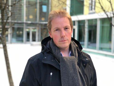 Tom Anders Stenbro, distriktssjef i Kreftforeningen Midt-Norge.