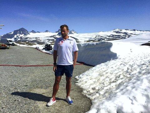 Petter Northug er tilbake på landslaget som denne veka er på samling på Sognefjellet. (Foto: Morten Sortland)