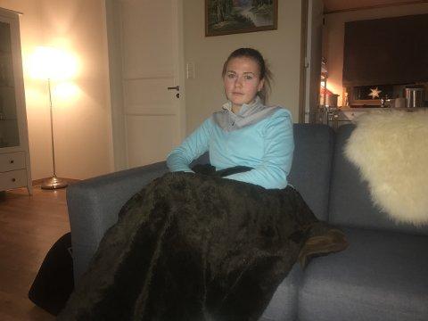 LETTA: Jannike Orrestad Andersen (21) er glad for at saka om ho sjølv no er over.