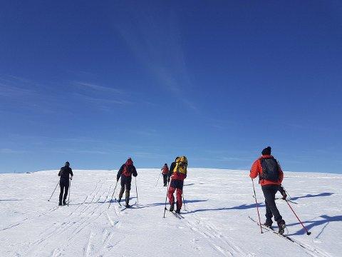 AKTIVE UTE: Svært mange nordmenn har som nyttårsforsett å vera meir aktive ute i 2020. (Foto: Linn Elise Jakhelln)