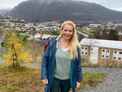 STUDENT OG GRÜNDER: Grete Liheim har fått mykje lærdom i bagasjen etter å ha prøvd seg som gründer. Kanskje går masterstudenten laus på nye prosjekt om ho får ein god idé.