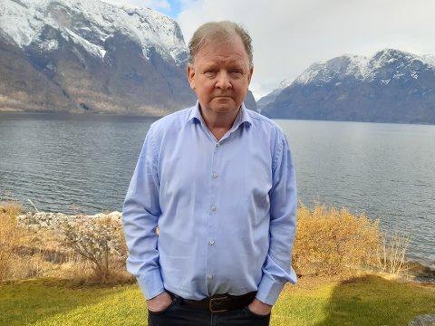 – TRENG KONKURRANSE: Tidlegare styreleiar i Aurland kabel-TV, Frode Bekkestad, meiner Sognenett treng meir konkuranse.