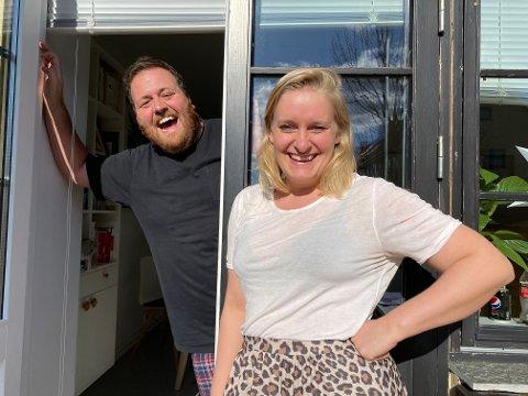 PODKAST: Har du sakna å høyra Ronny Brede Aase på radioen? No har han starta podkast med forloveden, Tuva Fellman.