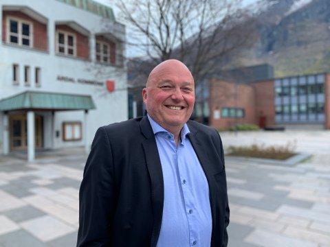 NØGD: Odd Einar Fimreite kommunalsjef for oppvekst og kultur i Årdal.