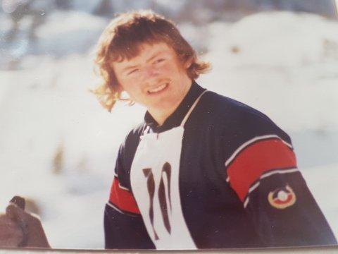 UNG OG LOVANDE: Utpå 70-talet deltok han som junior i Bjønnarennet. Langrenn har vore ein lidenskap heile livet for Olav Grov, men tida som konkurrerande utøvar varte ikkje lenge.