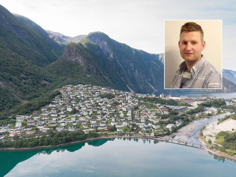 GOD PLAN: Thomas Norheim Moen (Sp) og dei folkevalde i Årdal trur ein eigen person som jobbar med rekruttering til bygda er vegen å gå.