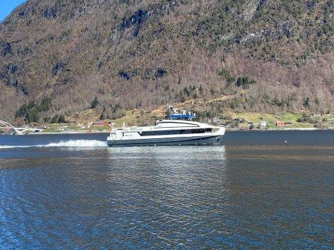 GÅR SOM NORMALT: Norled opplyser at ekspressbåtane går som oppsett i romjula og nyttårshelga.