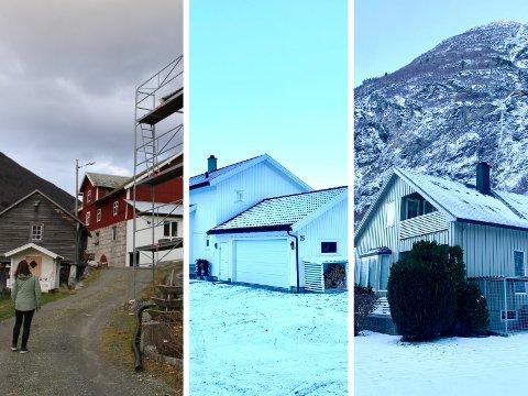 DYRAST i 2020: Desse eigedommane var dyrast i Årdal i 2020. Dei har alle postnummer 6885 noko som er heller sjeldan.