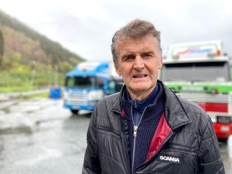 KLARE ORD: Magne Ahlin held ikkje tilbake i kritikken av vegvesenet.