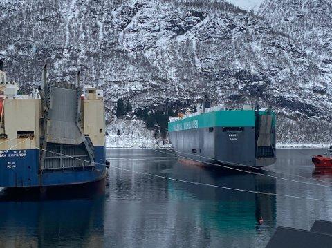 TILBAKE TIL NORMALEN:  I mai kom lasteskipet «Porgy» til Vetlefjorden. No skal skipet i trafikk att.