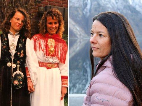 SAKN: Marie-Helene Hollevik Brandsdal (44) saknar storesyster Wenche, som vart berre 30 år gamal. Ho vil fortelja historia om kva overgrep, rusmisbruk og angst kan gjera med ein familie.
