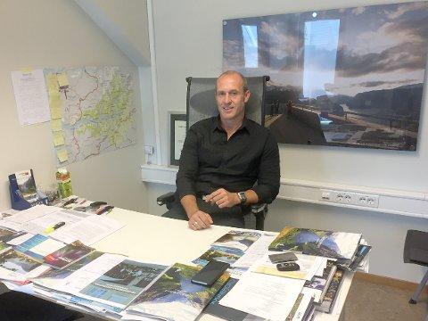 Ståle Brandshaug, direktør i Visit Sognefjord