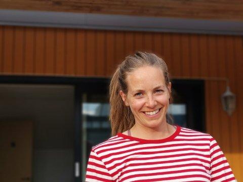 BYJENTE: Marit Hindrum Grønningsæter er byjente frå Trondheim, og hadde aldri vore på Vestlandet før ho busette seg i Sogndal.