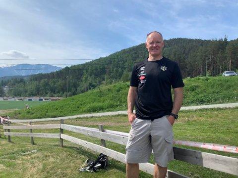 KAUPANGER: Christian Frøyd, og resten av gjengen i O-gruppa i Sogndal IL, heldt eit etterlengta løp for laga i Sogn og Fjordane denne helga.