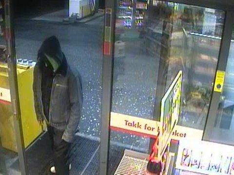 Ifølge politiet var det denne mannen som natt til tirsdag ranet Shell-stasjonen i Solakrossen.