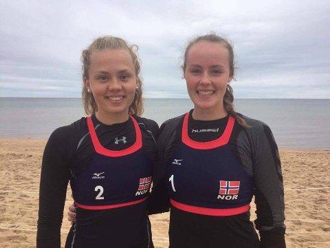 [b]Bronse:[/b] Kari Vølstad Bogen (til venstre) og Tuva Aarrestad tok bronse i Sverige.