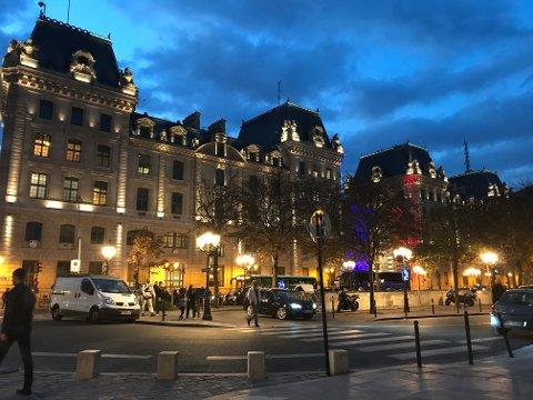 Mitt verste ferieminne er også en av de turene jeg husker best. Og dette bildet av Paris ble tatt ved en annen anledning.