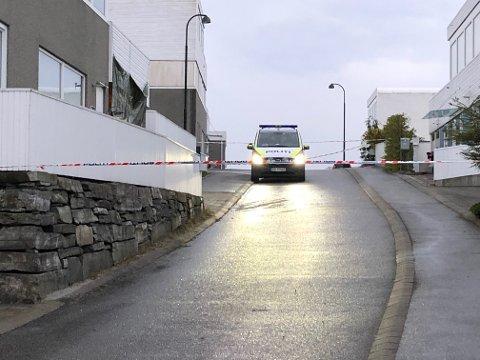 Det var i en bolig på Skadberg eksplosivene ble funnet.