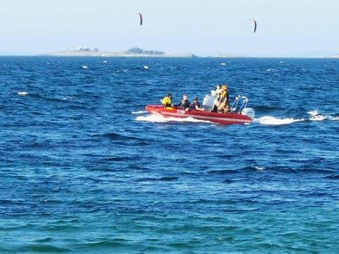 Båt ble brukt i søket etter mannen