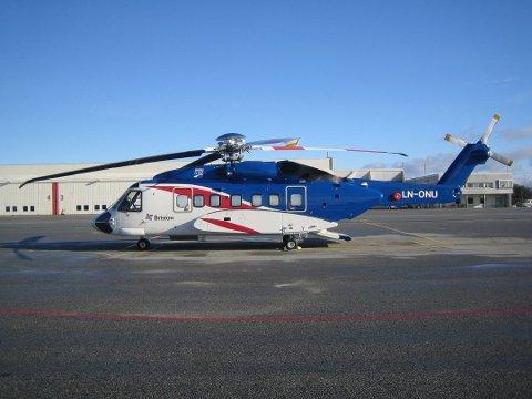Det var et helikopter av denne typen som var involvert i hendelsen 20. oktober.