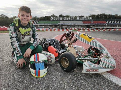 10 år gamle Fredrik elsker fart og idretten sin.