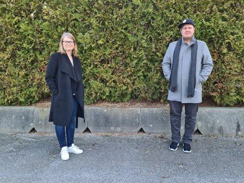 KrF-politiker Britt Marit Haga og SV-politiker Espen Watne er bekymret for mangel på kontroll av nettsalg av alkohol.