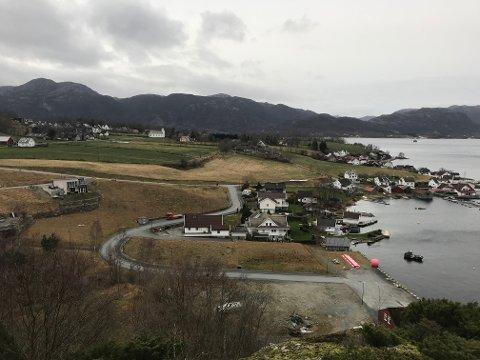 IKKJE STØTTE: Kommunestyret var einig med rådmannen i at Forsand kommune ikkje skal støtta Bergevik Panorama ved å kjøpa to tomter i bustadfeltet ved Lysefjorden.