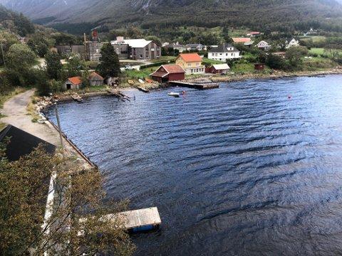 HELLE: Småbåthamna på Helle skal liggja i dette området.